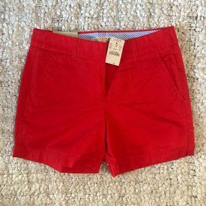NWT J. Crew Factory Chino City Fit Shorts 00